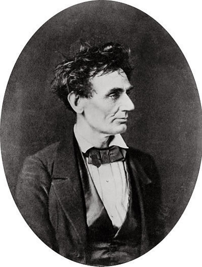 Abraham Lincoln Photos Messy Hair