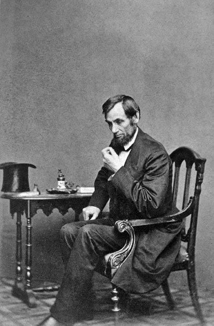 Abraham Lincoln Photos Pose