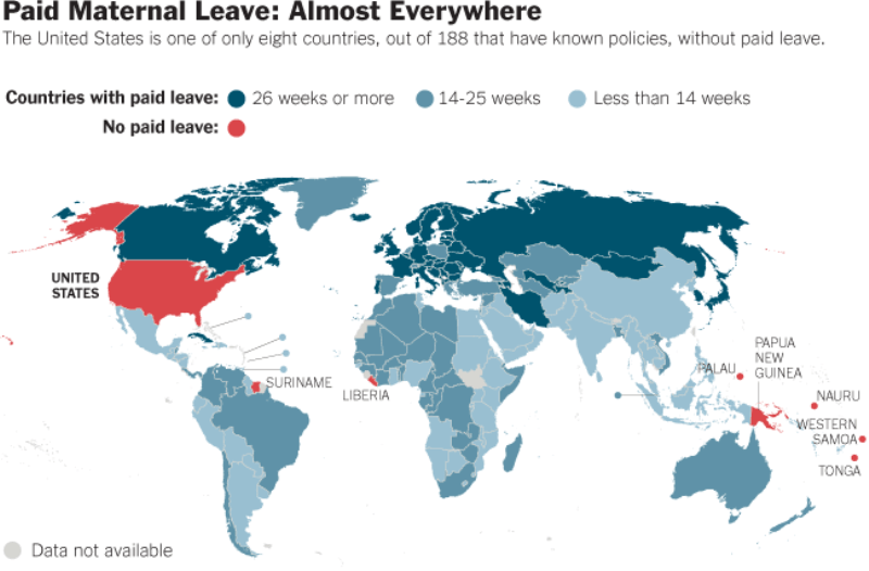 Paid Maternity Leave In America