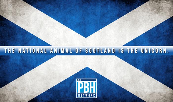 National Animal Of Scotland