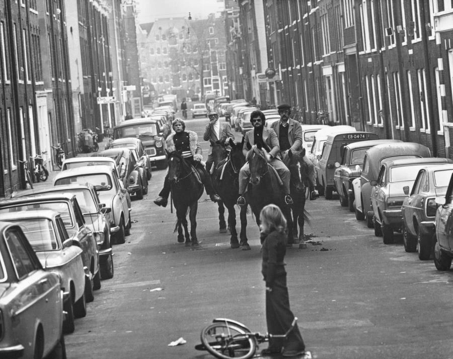Oil Crisis In Amsterdam 1973
