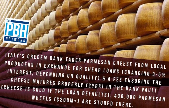 Parmesan Cheese Bank