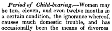 period of childbearing—becklards