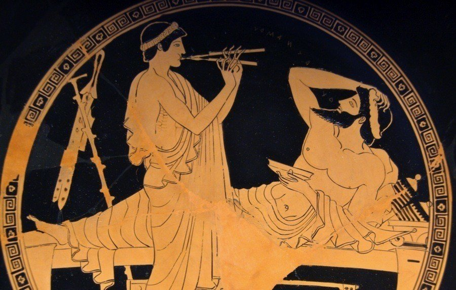 the types of play in ancient greece