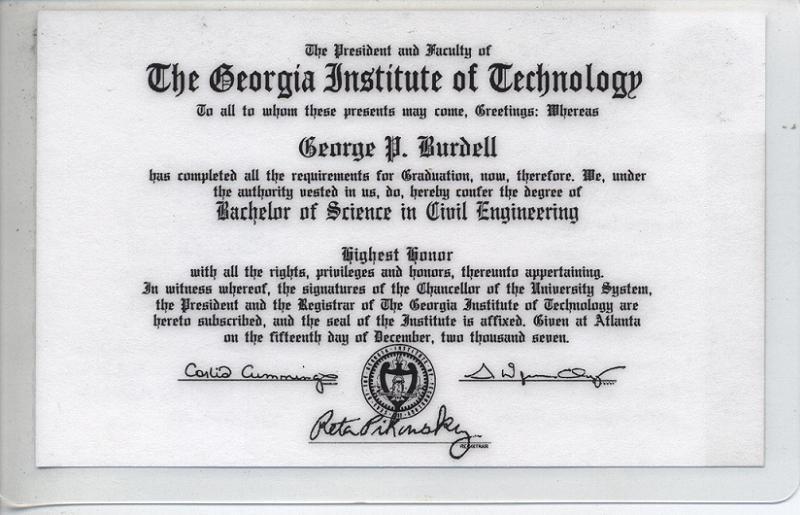Elaborate Pranks Burdell Diploma