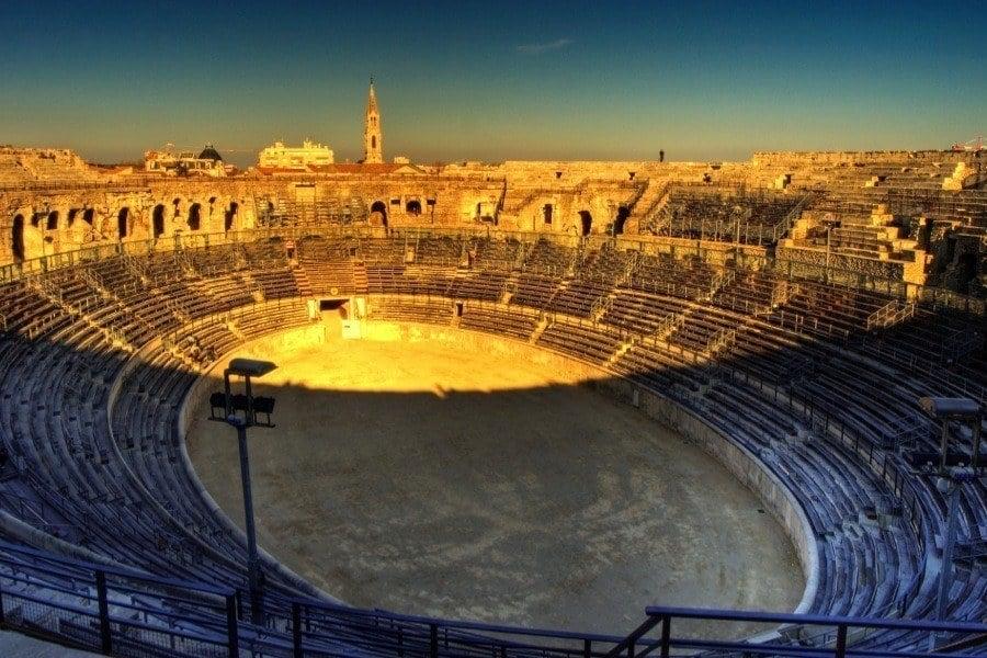 Roman Ruins Arena Nimes