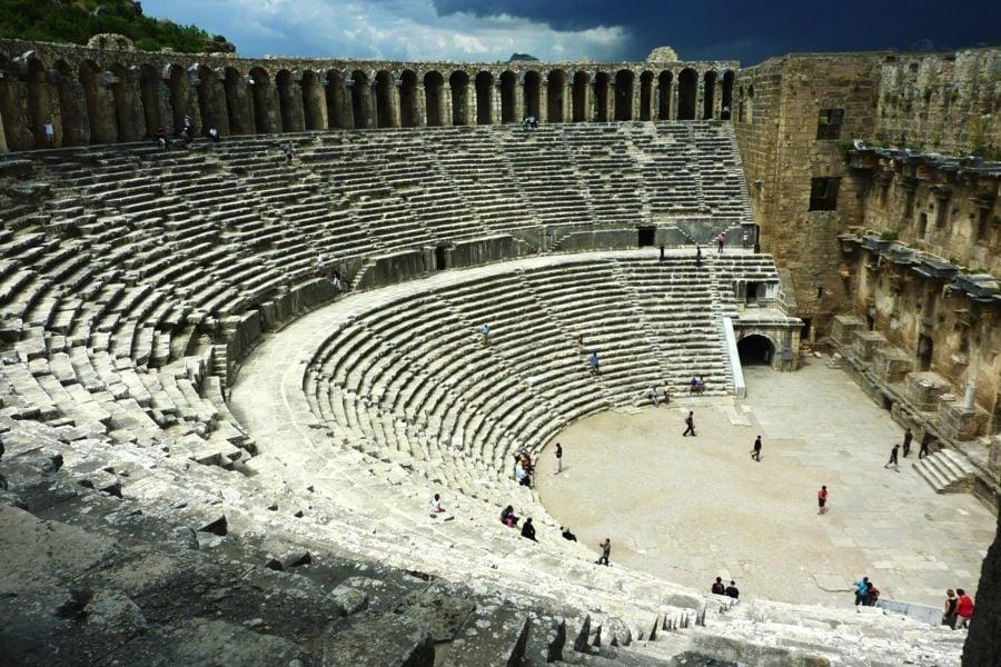 Roman Ruins Aspendos Turkey