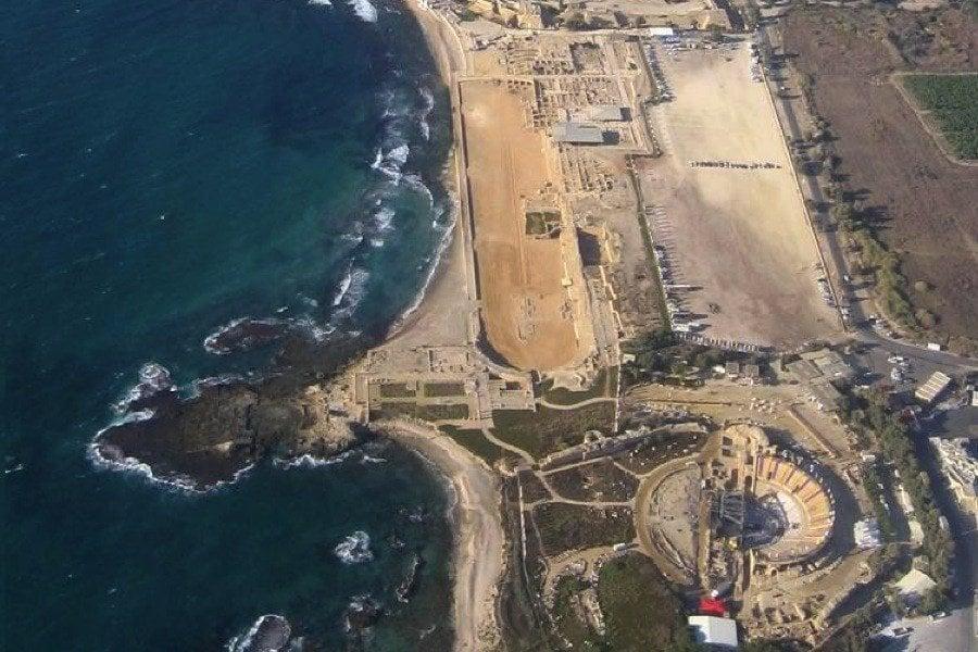Roman Ruins Caesarea Israel