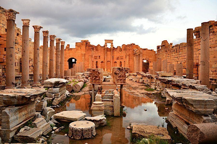 Roman Ruins Leptis Magna