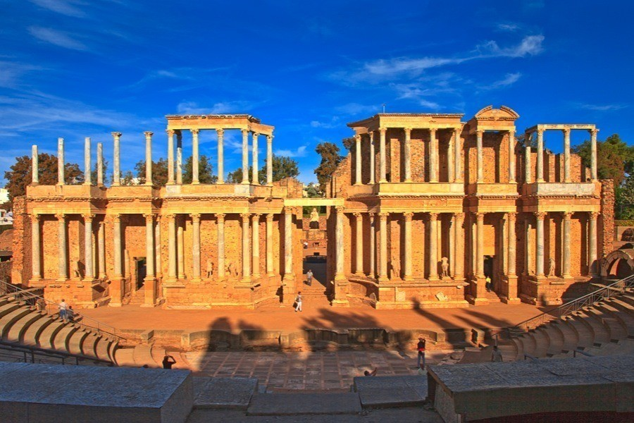 Roman Ruins Merida Spain