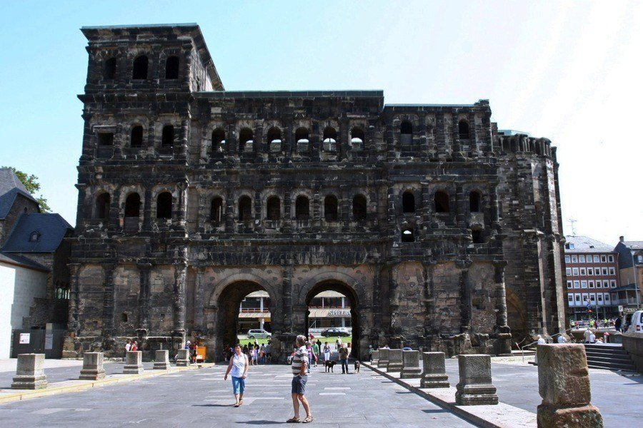 Roman Ruins Trier Germany