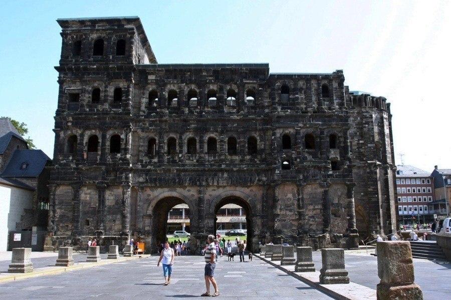 Roman Ruins Trier Germany