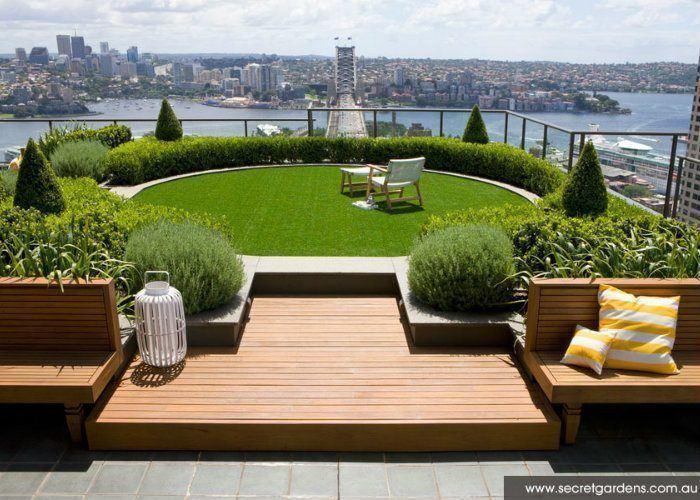 Rooftop Gardens Inner City Sydney