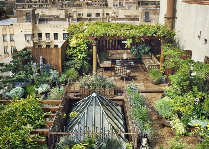 Rooftop Gardens Sunroof