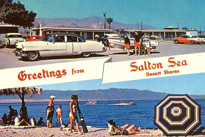 Salton City in the 1950s