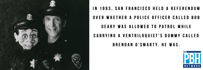 San Francisco Interesting Trivia