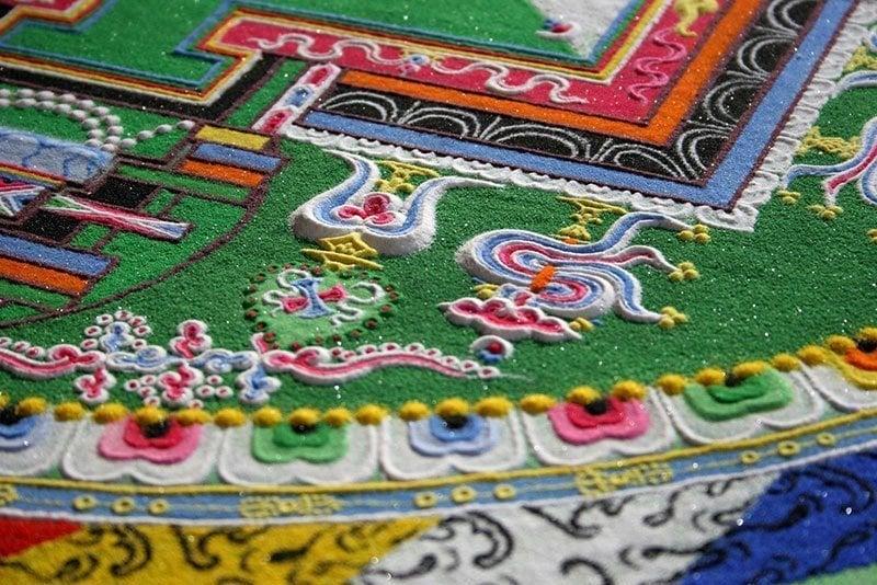 Dzongkar Choede Monk Sand Art