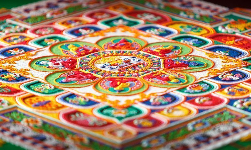 Three Dimensional Sand Painting