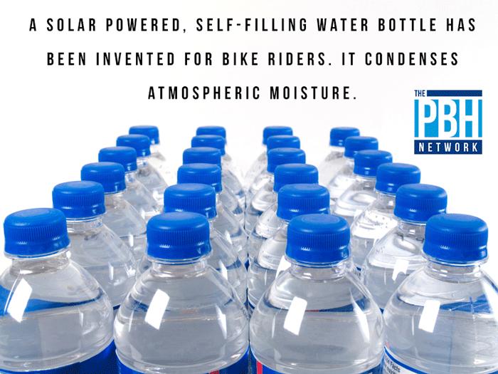 Self-Filling Bottle