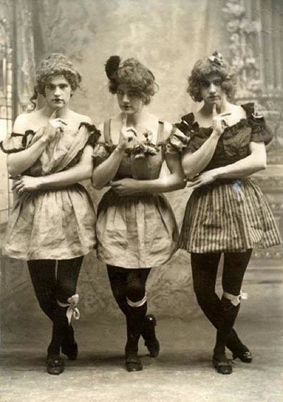 Silly Victorians Pose