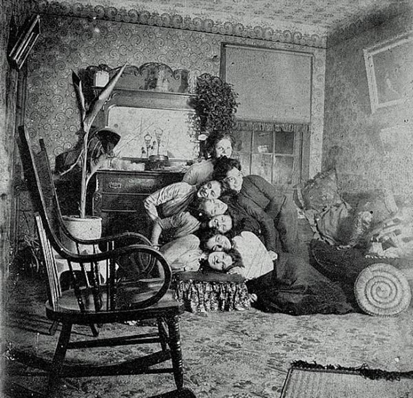 Silly Victorians Resting