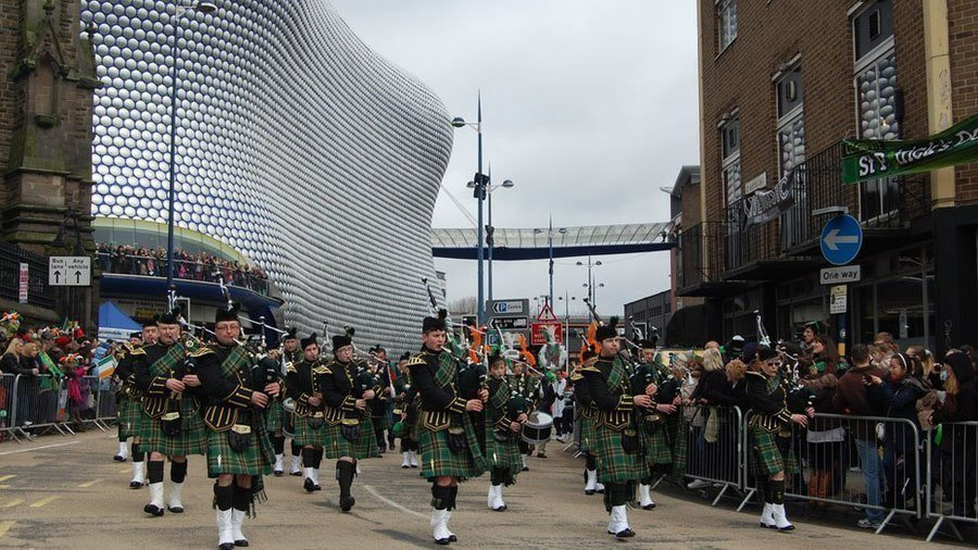 st. patricks pipe band