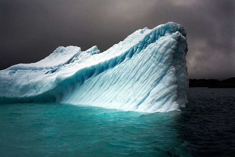 Breaching Iceberg