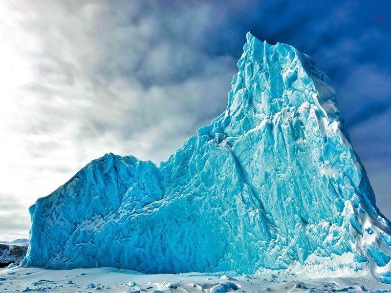 Stunning Iceberg in Canada