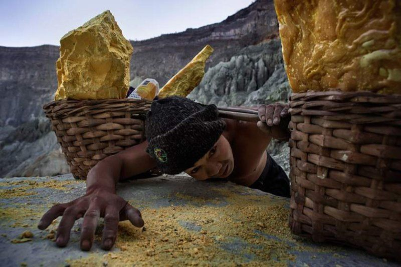 Sulphur Miner Sahron