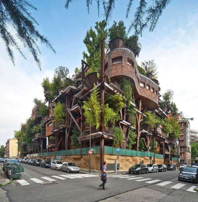 Eco-Friendly Building in Italy