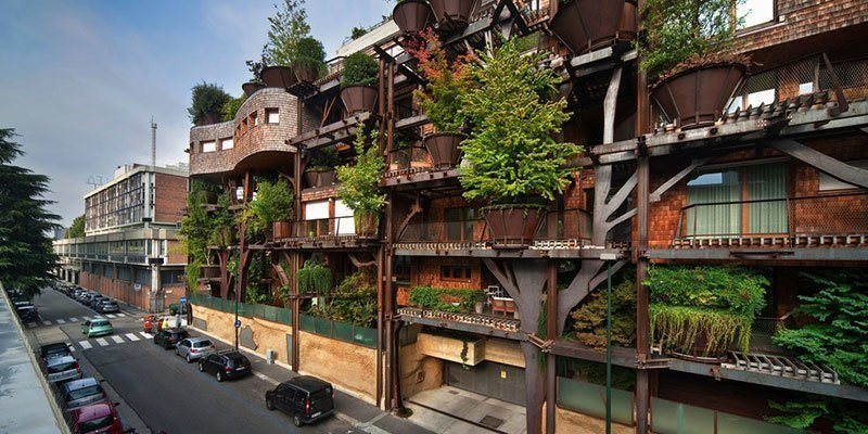 Urban Treehouse in Turin, Italy