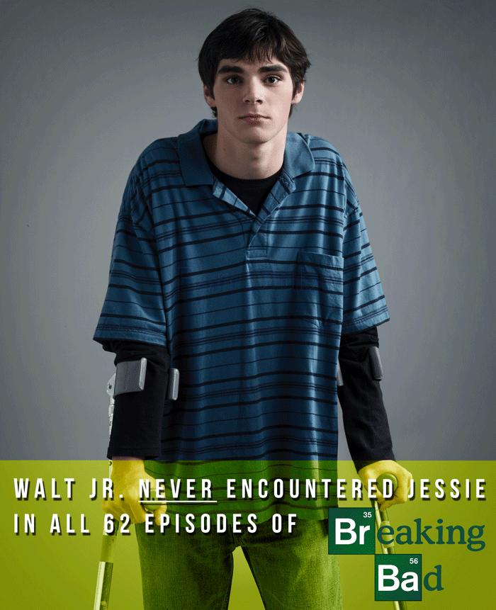 Walt Junior In Breaking Bad