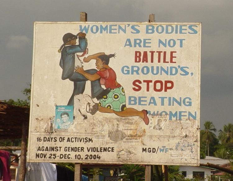 Liberia Rape Battlegrounds