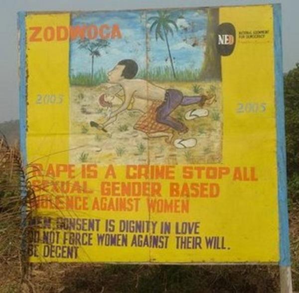 Liberia Rape Crime