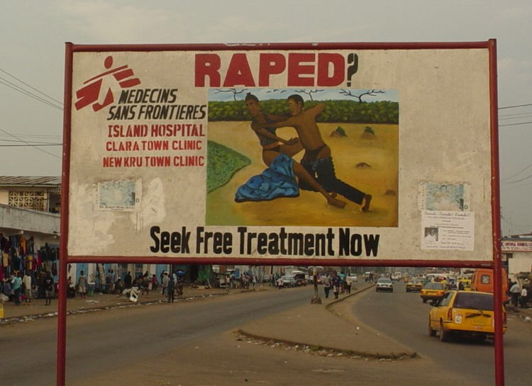 Liberia Rape Treatment