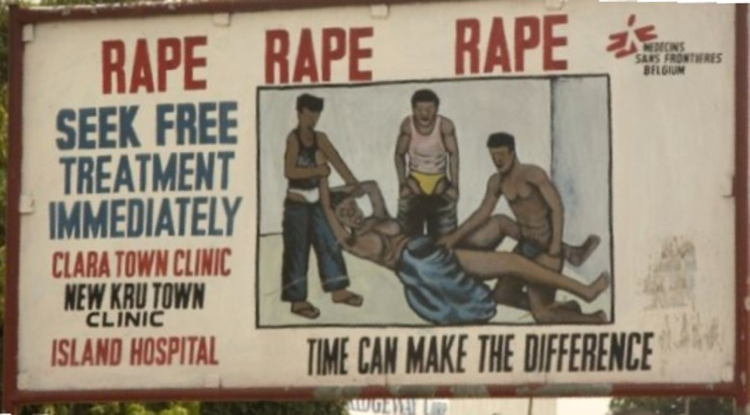 Liberia Rape Three Men
