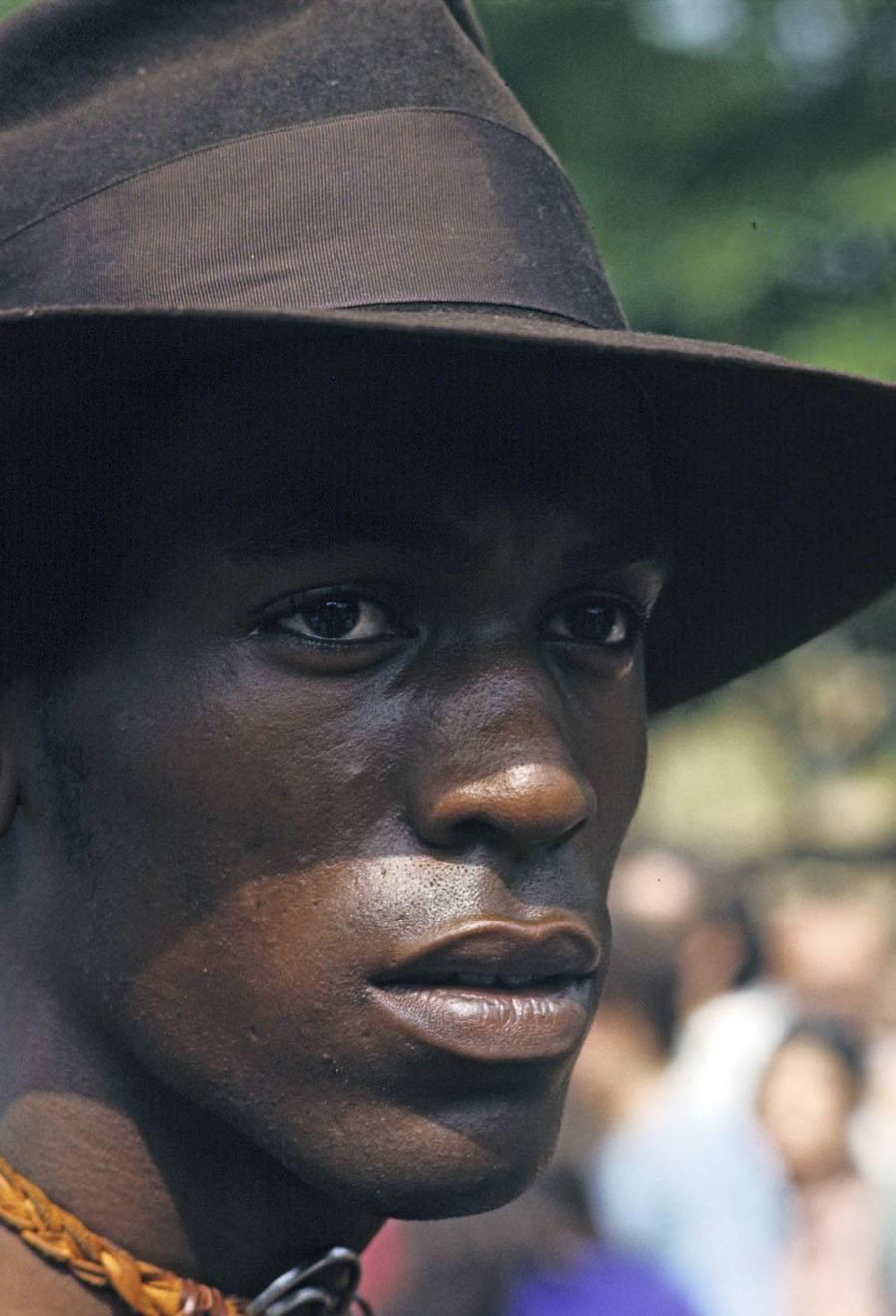 Harlem Resident In The 1970s
