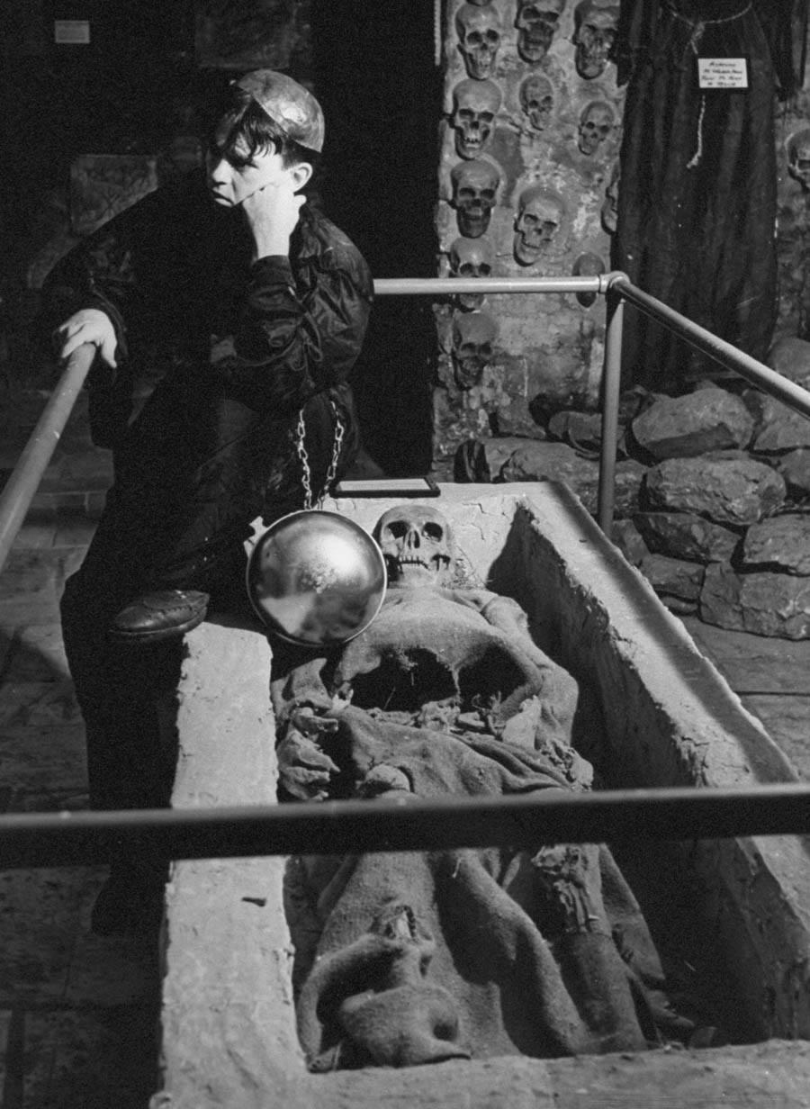 Catacombs Nightclub contemplation