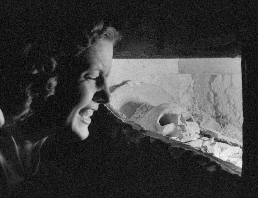 Catacombs Nightclub grimace