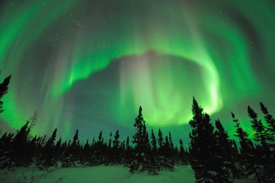 Earth In Crisis aurora borealis