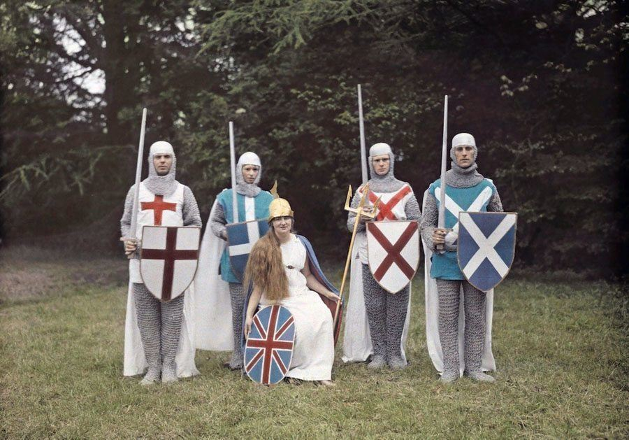 england in color knights
