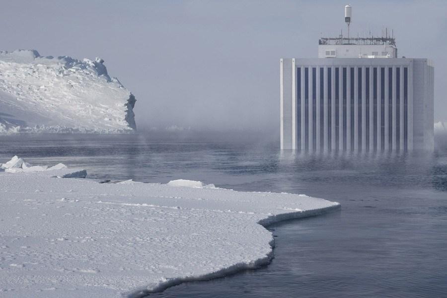 ice age artist glacier