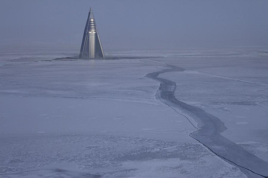 ice age artist pyramid
