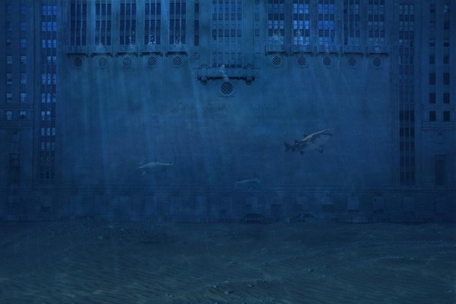 ice age artist sharks