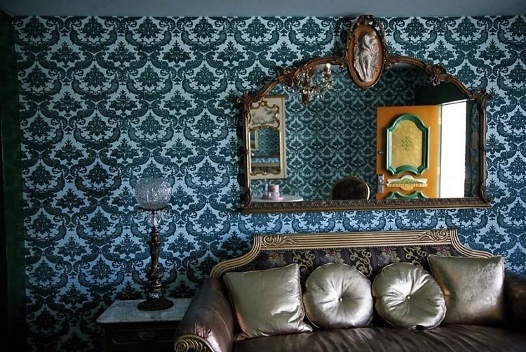 madonna inn wallpaper mirror