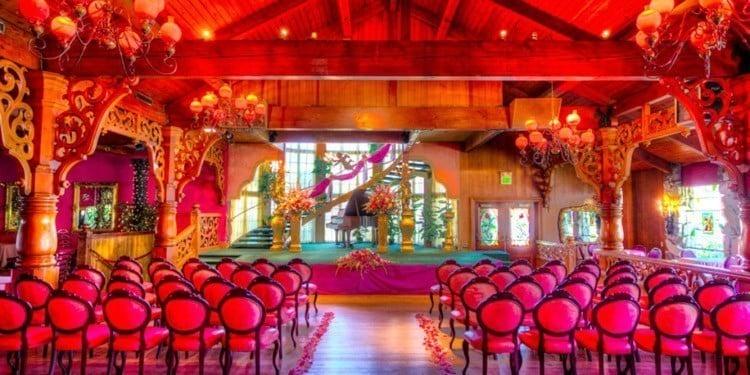 madonna inn wedding stage
