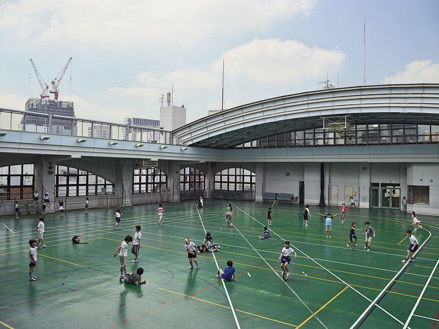 playgrounds around world, tokyo