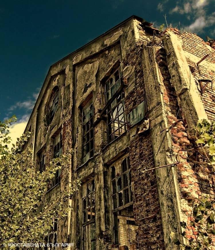 abandoned bulgaria fragile facade