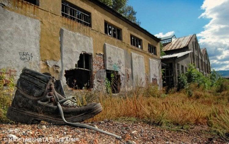 abandoned bulgaria lone boot