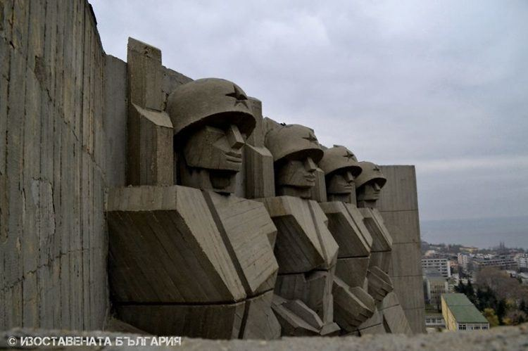 abandoned bulgaria stone soldiers